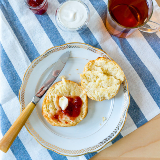 30-Minute Easy Cream Scones