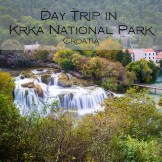 Day Trip at Krka National Park and a Night at Zadar, Croatia