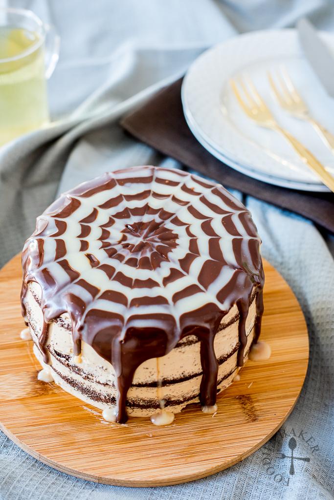 Chocolate Ganache Swiss Roll Recipe