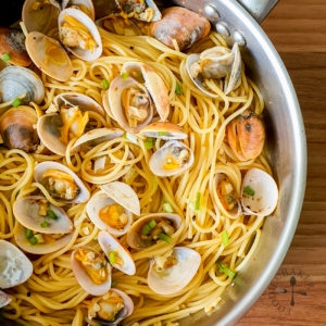 White Wine Clam Pasta